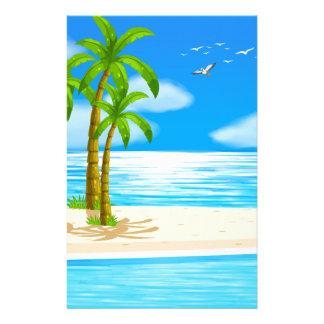 Beach Stationery