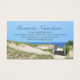 Beach Steps Business Cards