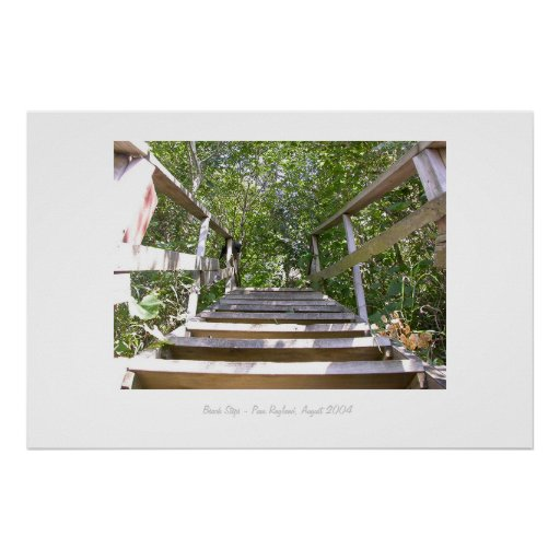 Beach Steps Print