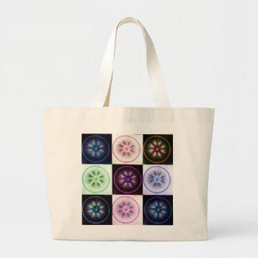 Beach Themed beach stock market wind rose large tote bag