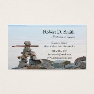 beach stone art professional business card