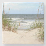 Beach Stone Coaster at Zazzle