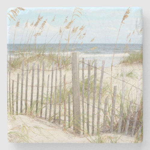 Scenic Beach Stone Drinks Coaster
