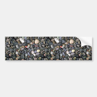 Beach stones and agates, Lopez Island, San Juan Is Car Bumper Sticker
