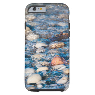 Beach stones on the lake shore tough iPhone 6 case