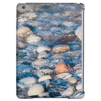 Beach stones on the lake shore case for iPad air