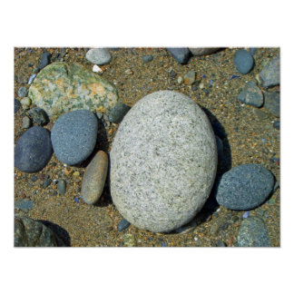 Beach Stones Posters