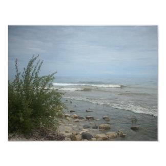 Beach Storm Clouds Card