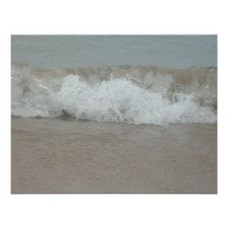 Beach Storm Surf Custom Invitations