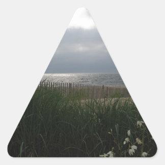 Beach Storm Triangle Sticker