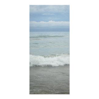 Beach Storm Waves Customized Rack Card