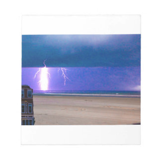 beach Storms are beautiful to watch Memo Note Pads