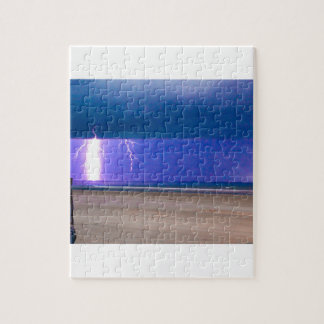 beach Storms are beautiful to watch Puzzle