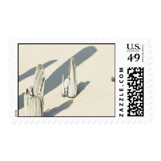 Beach Strand In Norther France Stamp