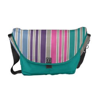 Beach Stripes Courier Bag