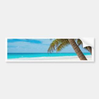 Beach Style Car Bumper Sticker