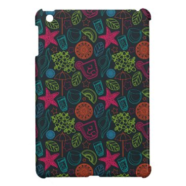 Beach Themed Beach style design for hot summer days with fruit case for the iPad mini