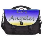 Beach Style Los Angeles - Beach Background Laptop Bag