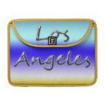 Beach Style Los Angeles - Beach Background MacBook Pro Sleeve