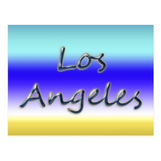 Beach Style Los Angeles - Beach Background Postcard
