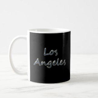 Beach Style Los Angeles - On Black Coffee Mug