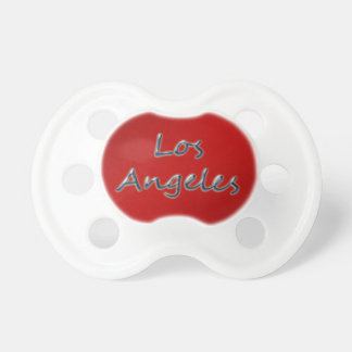 Beach Style Los Angeles - On Red Pacifier