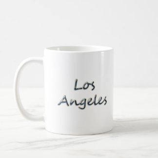 Beach Style Los Angeles - On White Coffee Mug
