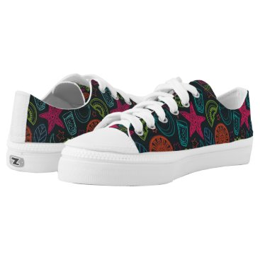 Beach Themed Beach style sneakes for hot summer days Low-Top sneakers