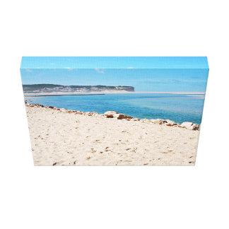 Beach Subject Canvas Print