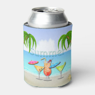 Beach Summer Cocktails Can Cooler