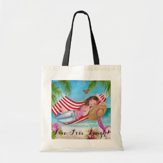 Beach Summer Girl Tote Bag