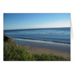 Beach, Summerland, California Greeting Cards