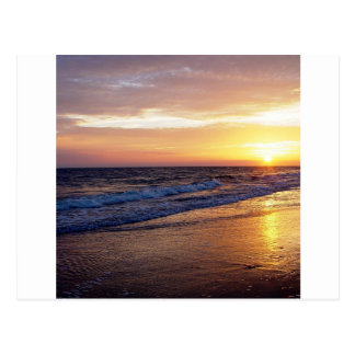 Beach Sun Down Postcards
