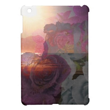 Beach Themed Beach sunlight and roses iPad mini cases