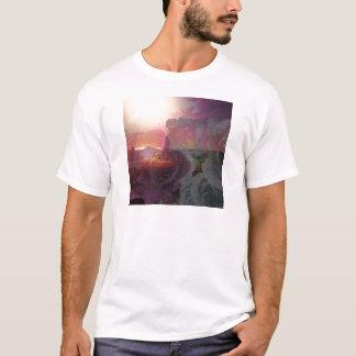 Beach sunlight and roses T-Shirt