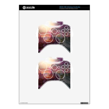 Beach Themed Beach sunlight and roses xbox 360 controller decal
