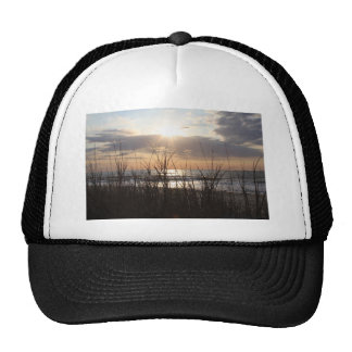Beach Sunrise Mesh Hats
