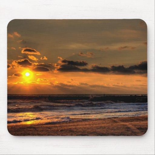 Beach Sunrise Mousepads