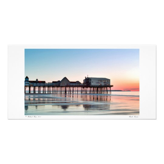 Beach Sunrise Photo Card