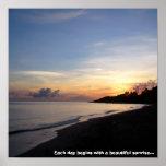 Beach Sunrise Posters