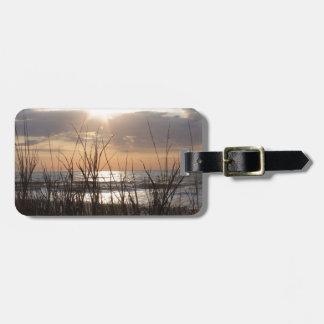 Beach Sunrise Tag For Luggage