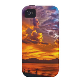 Beach Sunset Case-Mate iPhone 4 Covers