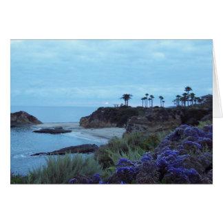 Beach Sunset Coastal Southern California Card