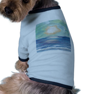 Beach Sunset - CricketDiane Ocean Art Dog Tshirt