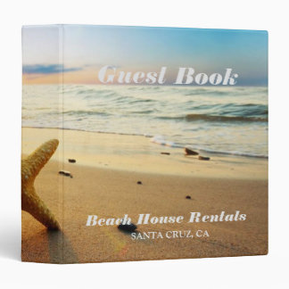 Beach Sunset Custom Binder