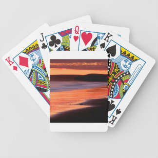 Beach Sunset Drakes Bay Marin Deck Of Cards