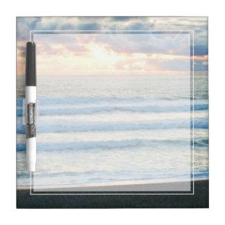 Beach Sunset Dry Erase Boards