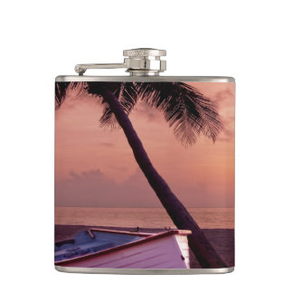 Beach Sunset Flask