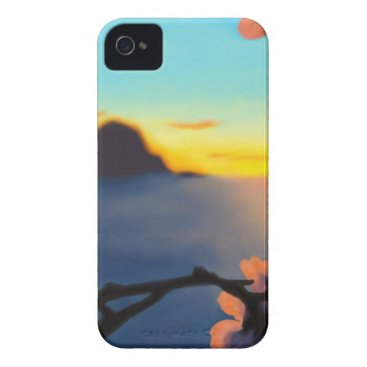 Beach Themed Beach Sunset iPhone 4 Case-Mate Case