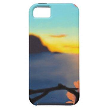 Beach Themed Beach Sunset iPhone SE/5/5s Case